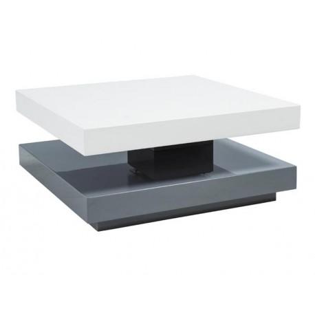 thumb Журнальный стол Falon Бело/серый 75(105)х7534 1