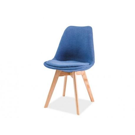 thumb Стул Dior дуб Синий 1