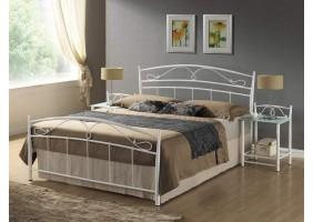 Кровать полуторная Siena 140X200 Белый