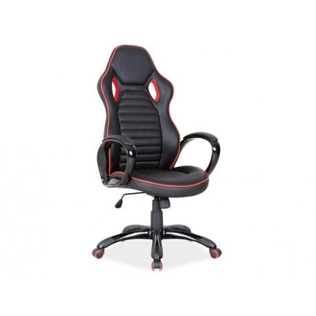 thumb Кресло Q-105 Черный/Красная окантовка 1