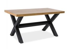 Журнальный стол Xaviero B Дуб/Черный 110х60
