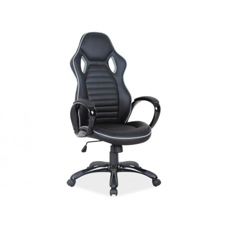 thumb Кресло Q-105 Черный/Серая окантовка 1