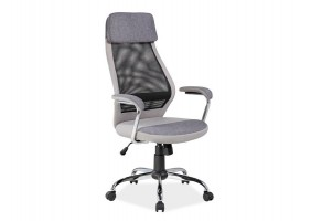 Кресло Q-336 Серый