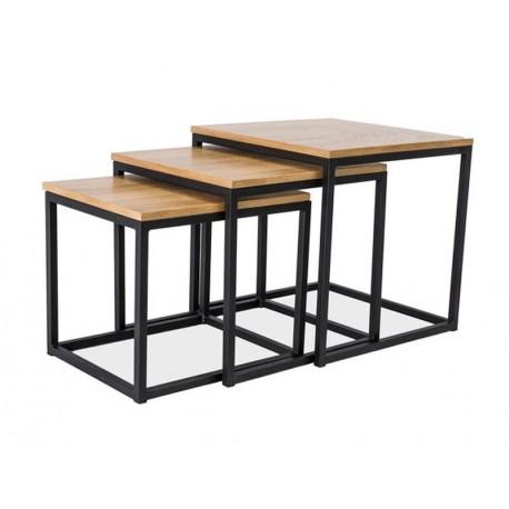 thumb Журнальный стол Trio Дуб/Черный 1