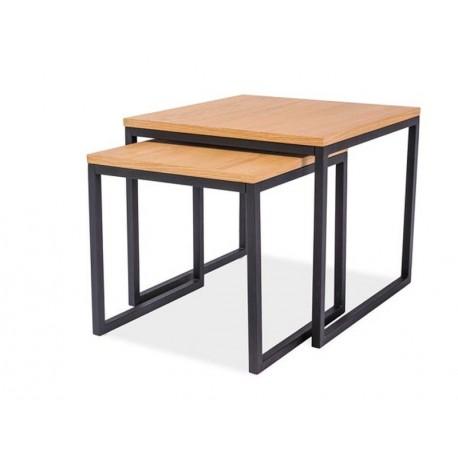 thumb Журнальный стол Largo Duo Дуб/Черный 1