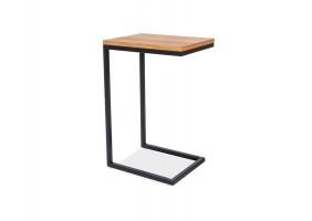 Журнальный стол Largo C Дуб/Черный 30х40