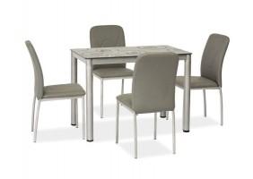 Стол обеденный Damar Серый 80х60