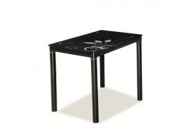 Стол обеденный Damar Черный 80х60