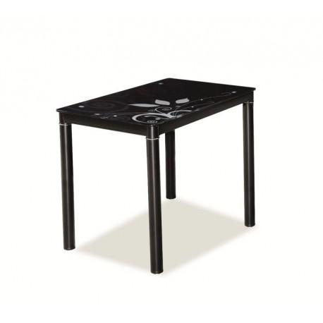thumb Стол обеденный Damar Черный 80х60 1