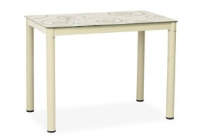 Стол обеденный Damar 80x60 Кремовый