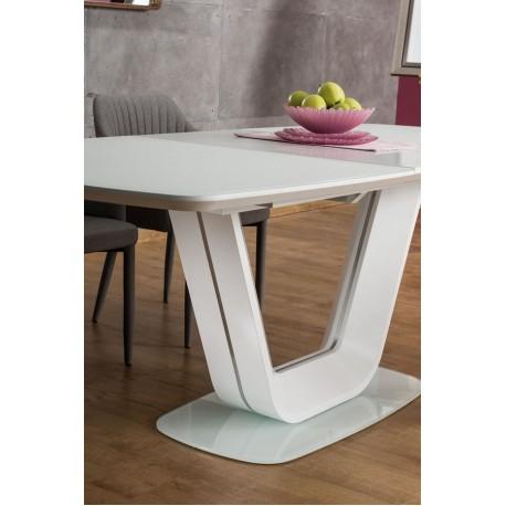 thumb Стол обеденный Armani 160(220)X90 Белый 2