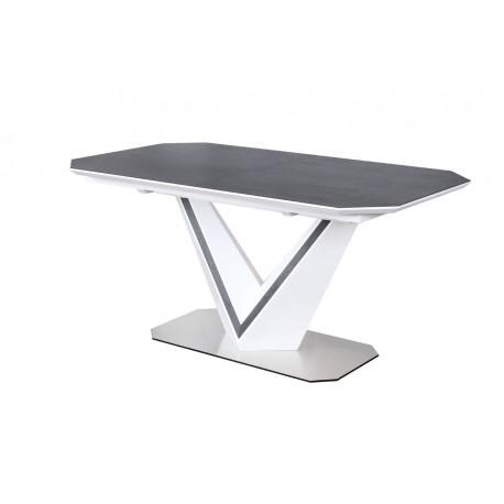 thumb Стол обеденный Valerio Ceramic 160(220)X90 Серый/Белый 2
