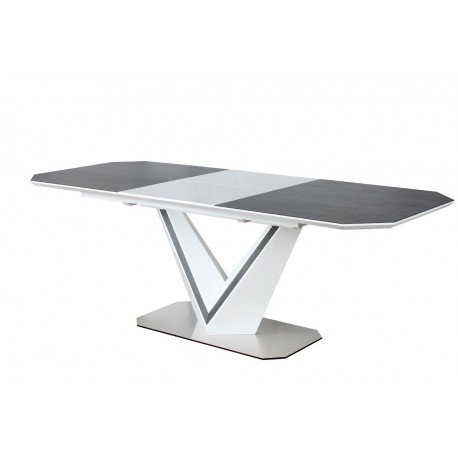 thumb Стол обеденный Valerio Ceramic 160(220)X90 Серый/Белый 3