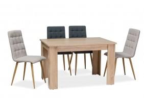 Стол обеденный Avis 120x80x75 Дуб сонома