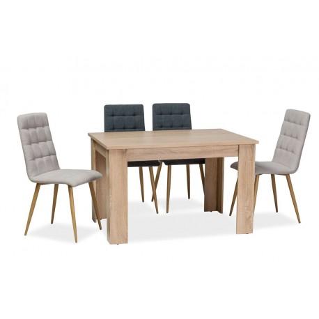 thumb Стол обеденный Avis 120x80x75 Дуб сонома 1