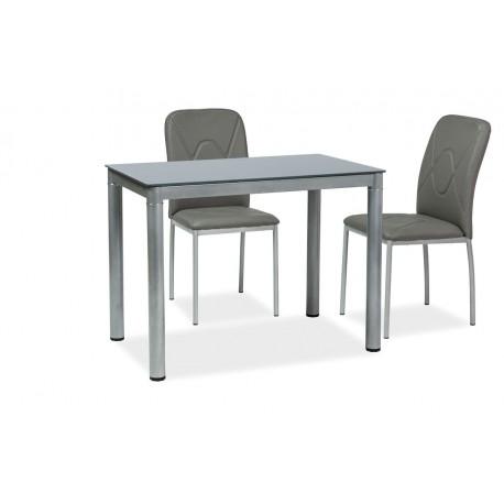 thumb Стол обеденный Galant 100 x 60 Серый 1