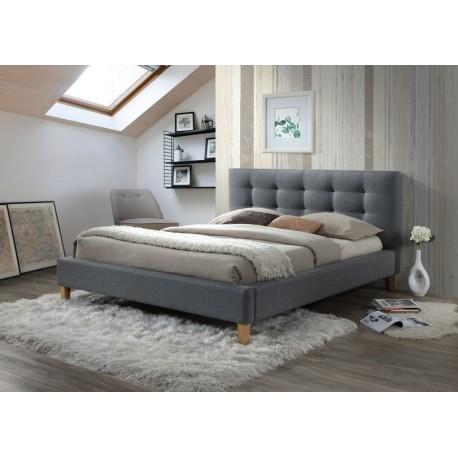 thumb Кровать полуторная Texas 140X200 Серый 1