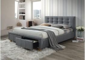 Двуспальная кровать Ascot 160X200 Серый