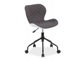 Кресло Rino Серый/Белый