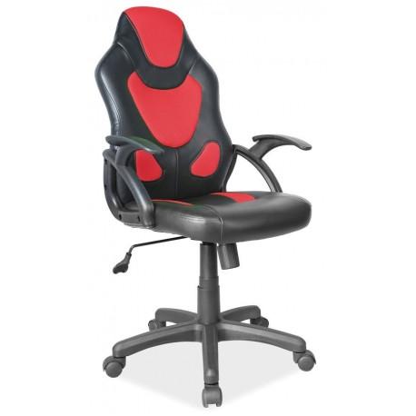 thumb Кресло Q-100 Черный/Красный 1