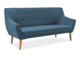 Прямой диван Nordic 3 Бирюза/Бук