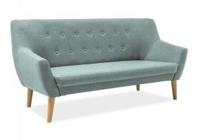 Прямой диван Nordic 3 Мятный/Бук