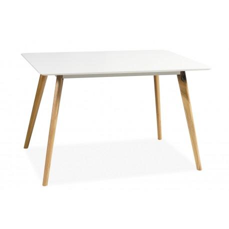 thumb Стол обеденный Milan 120х80 Белый/дуб 1