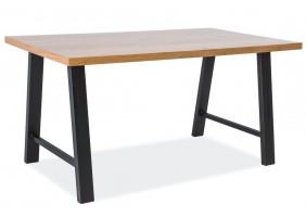 Стол Abramo 150х90 Дуб/Черный