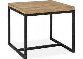 Журнальный столик Loras C Дуб/Черный