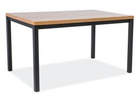 Стол обеденный Normano 180х90 Дуб/Черный