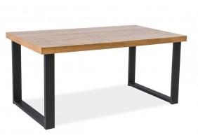 Журнальный столик Umberto B Дуб/Черный