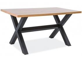 Стол Xaviero 150*90 Дуб/Черный