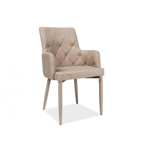 thumb Комплект стол обеденный Armani + стулья Ricardo Бежевый 6 шт. 4
