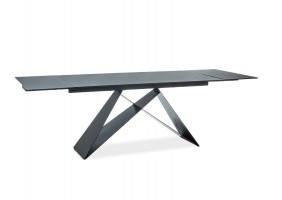 Стол обеденный Westin I 160(240)х90 Черный/Черный