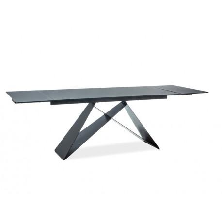 thumb Стол обеденный Westin I 160(240)х90 Черный/Черный 1
