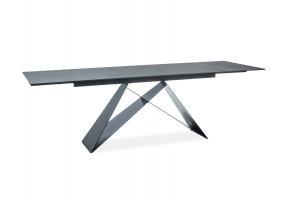 Стол обеденный Westin II 160(240)x90 Черный/Черный