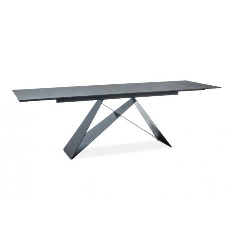 thumb Стол обеденный Westin II 160(240)x90 Черный/Черный 1