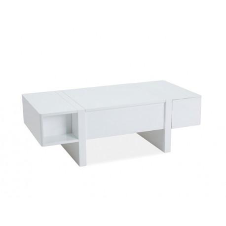 thumb Журнальный стол Mido 120х60х40-65 Белый 1