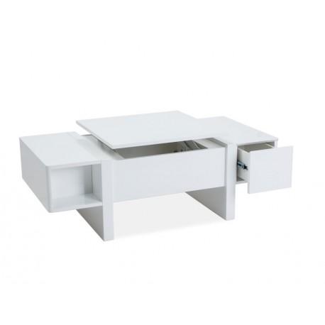 thumb Журнальный стол Mido 120х60х40-65 Белый 2