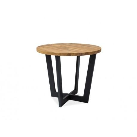 thumb Стол обеденный Cono 150x90 Дуб/Черный 2