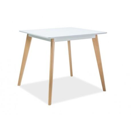 thumb Стол обеденный Declan II 80х80 Белый/Бук 2
