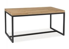 Стол обеденный Loras A 120х80 Дуб/Черный