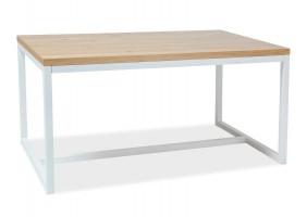 Стол обеденный Loras A 180х90 Дуб/Белый