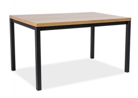 Стол обеденный Normano 120х80 Дуб/Черный
