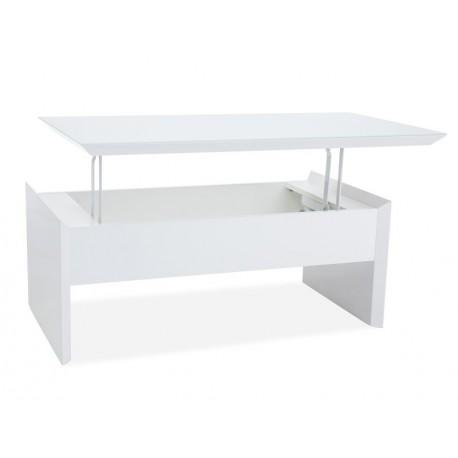 thumb Журнальный стол Alien 110X60X45-70 Белый 2