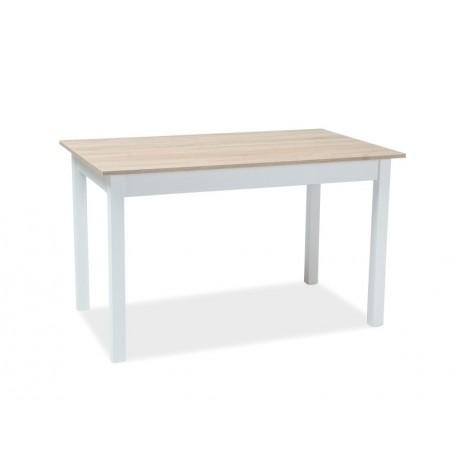 thumb Стол обеденный Horacy 75x125 Дуб сонома/Белый 2
