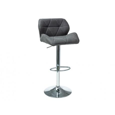 thumb Барный стул C-122 Темно-серый 1