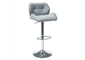 Барный стул C-122 Серый