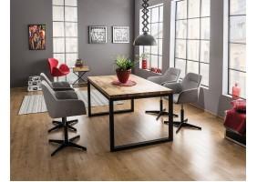Стол обеденный Loras II 180х90 Дуб/Черный