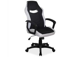 Кресло Camaro Черный/Серый